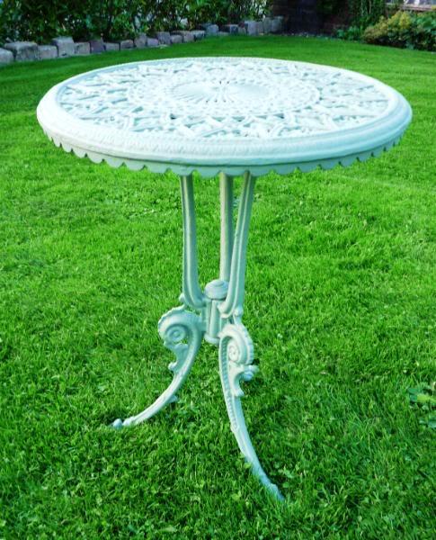 Antique Reclaimed Cast Iron Garden Table 4148