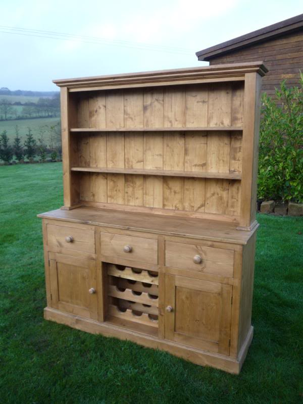 Bespoke Hand Waxed Welsh Dresser by UKAA