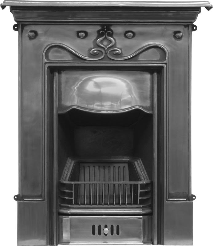 Carron tulip RX089 or RX059 cast iron combination fireplaces are a traditional style and kept in stock ready for immediate dispatch from our warehouse