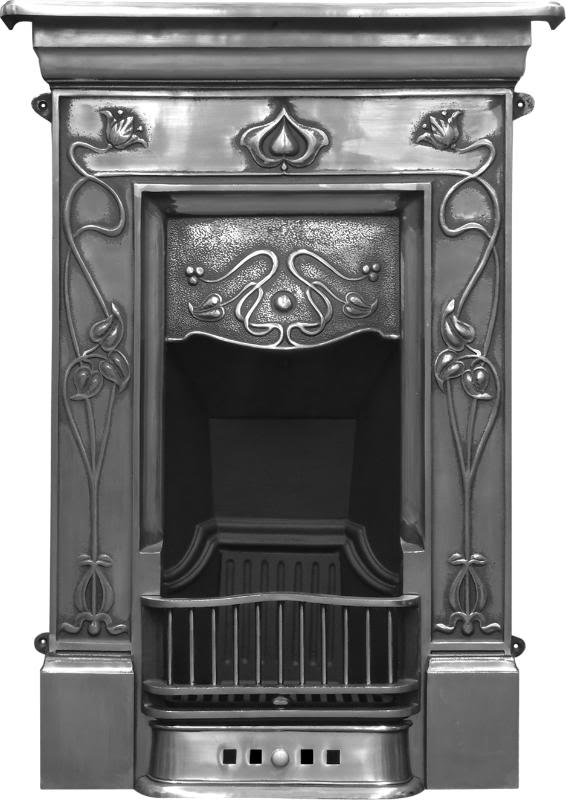 Carron crocus style combination cast iron fireplaces are available in a hand burnished or black finish and ready to view in our showroom in Staffordshire