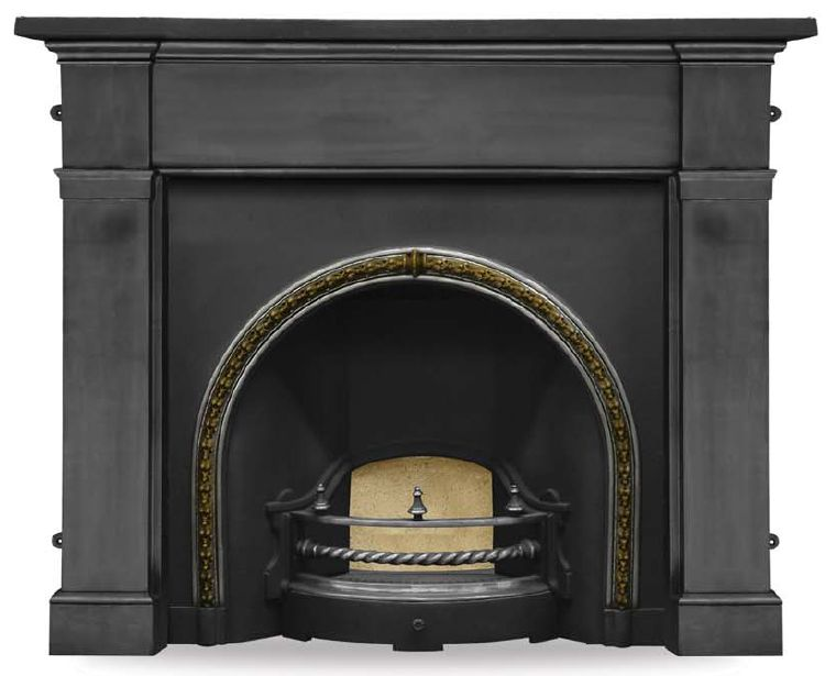 Carron Kensington Cast Iron Fireplace Surround and Insert at UKAA