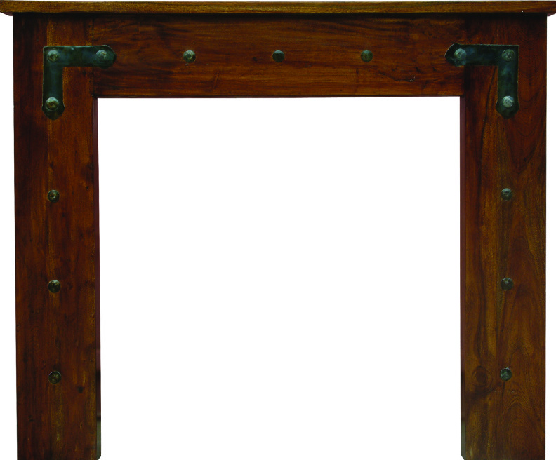 Carron TH557 Chestnut solid acacia fireplace surrounds are a traditional style suitable for traditional or modern properties