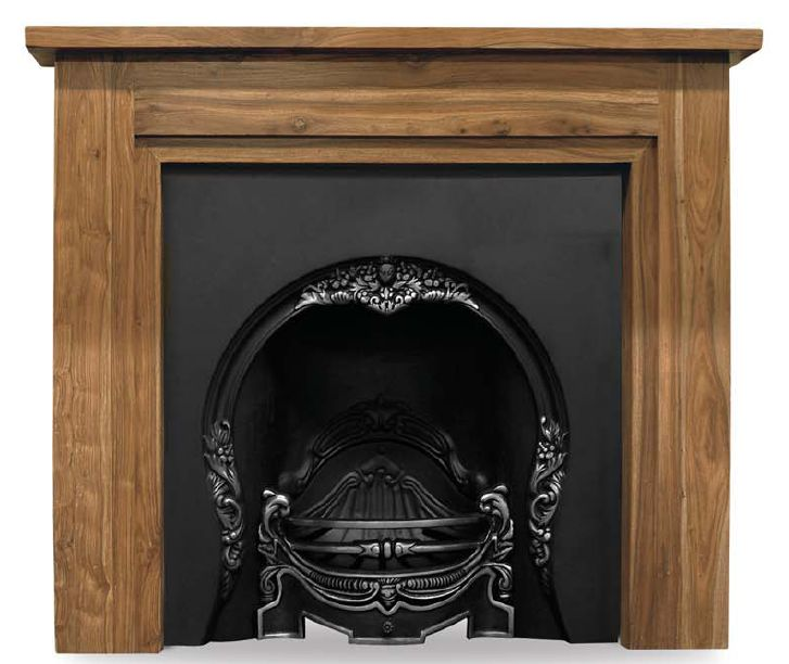 Carron tiffany cast iron fireplace inserts are highlight polished and have a horseshoe archway shape they are kept in stock in our warehouse and are ready for immediate delivery