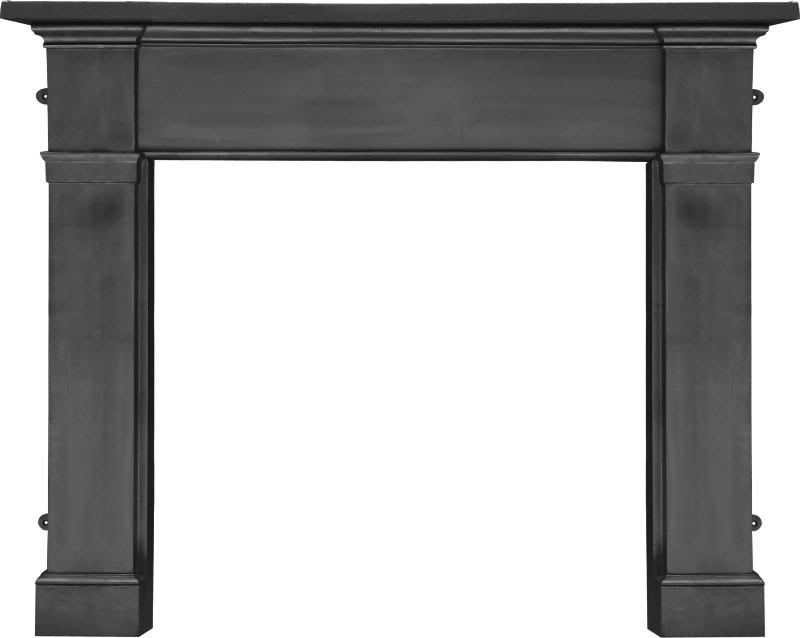 Carron Black Or full polish somerset cast iron fireplace or mantelpiece are in stock in our showroom ready for you to come and view