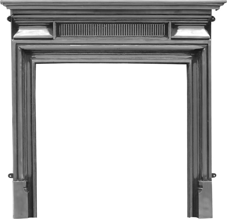 Carron belgrave RX144 traditional ornate cast iron fireplace mantle cast from original moulds are in stock ready for delivery worldwide