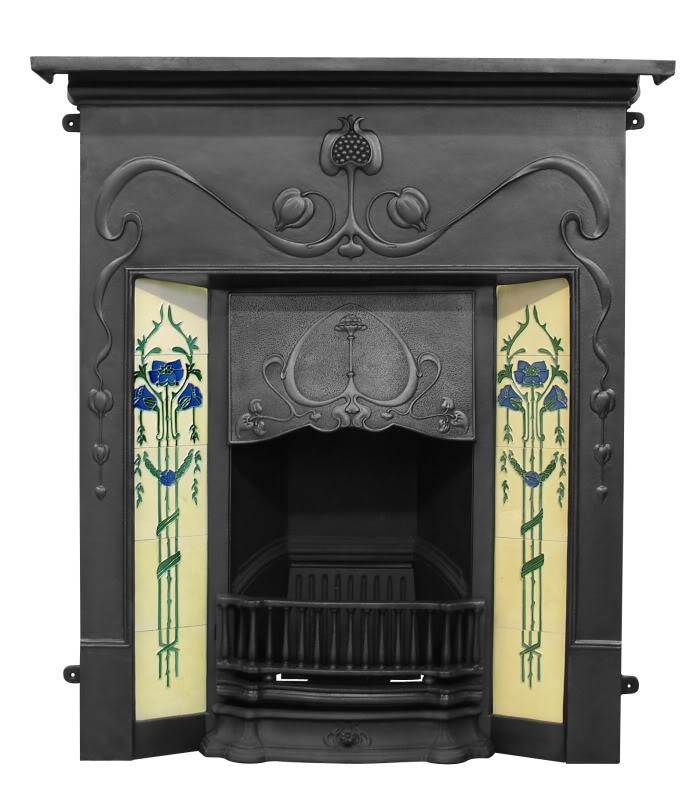Art Nouveau Fireplace Quotes
