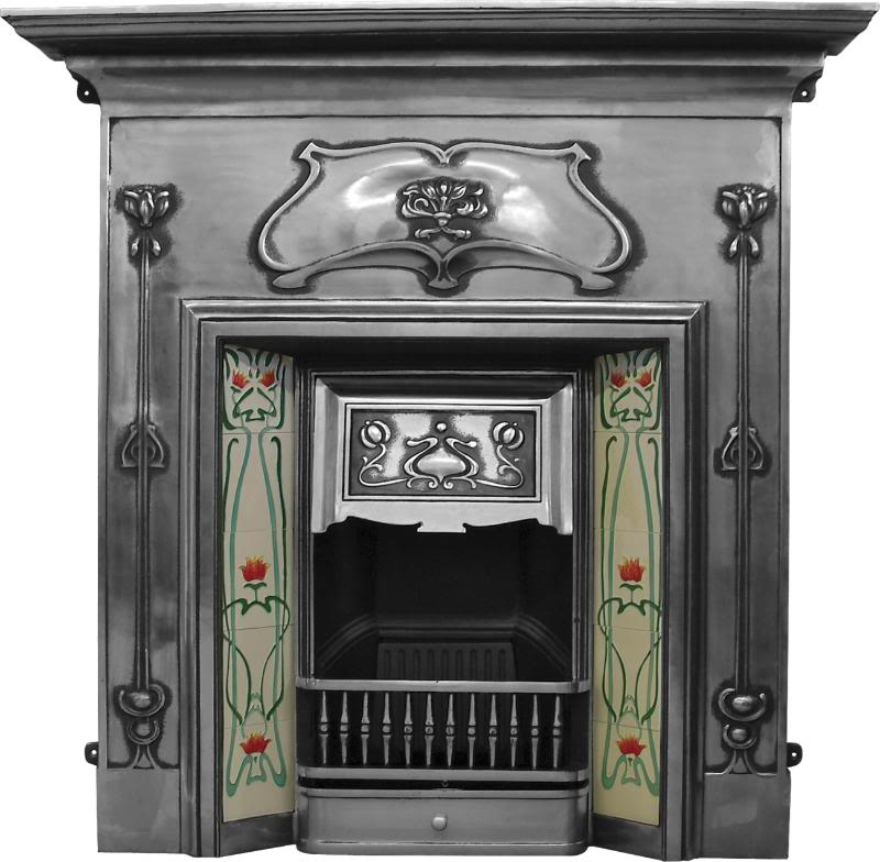 Carron reproduction cast iron combination fireplaces cast from original moulds to look like old refurbished fireplaces are in stock and ready to view