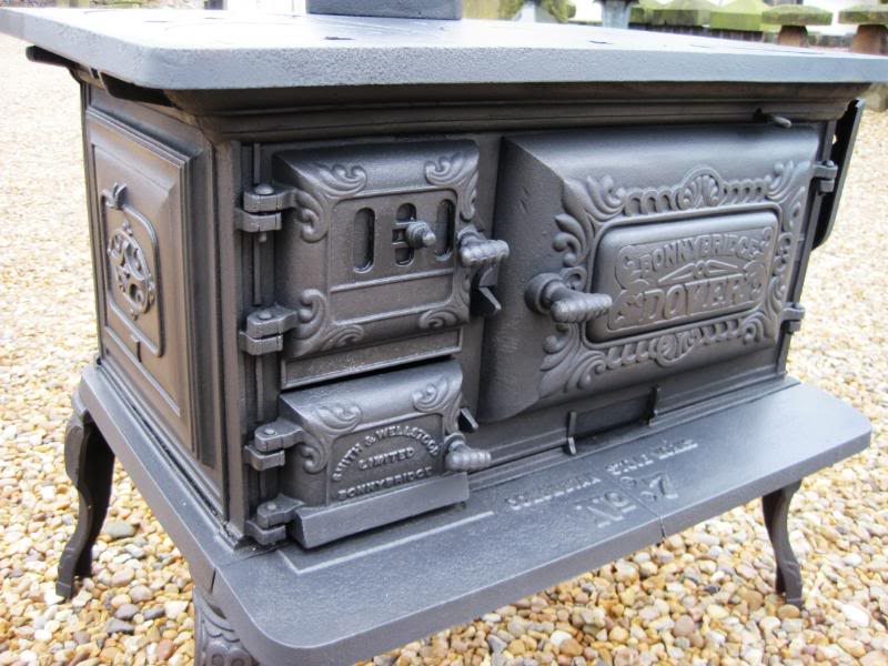 Cast Iron Wood Burning Cook Stove WB Designs - Cast Iron Wood Burning Cook Stove WB Designs