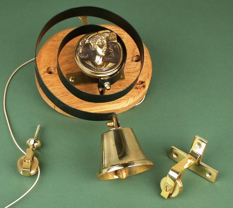Antique Solid Brass Servants