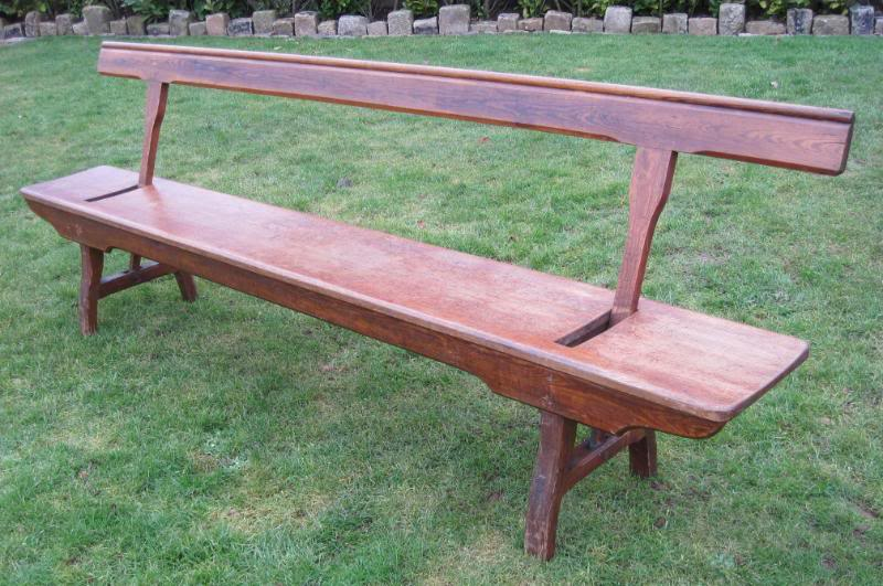 Victorian Pitch Pine Bench Suitable For Kitchen Or Dining Room 4561