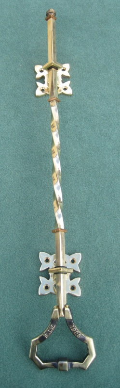 Original traditional solid antique bell pull in stock