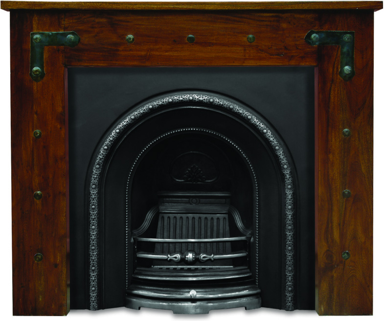 Carron ce lux insert RX082 or RX204 cast iron fireplace inserts have traditional large arched opening and are available in black, full polish and half polish