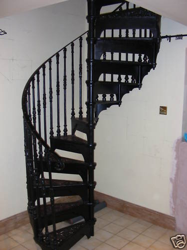 Safety Stairways Reclaimed Cast Iron Spiral Staircase