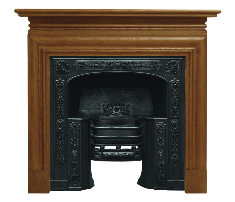 Carron Queensferry HEB203 black cast iron fireplace hob grate inserts are a traditional ornate Victorian style and available for a next day delivery