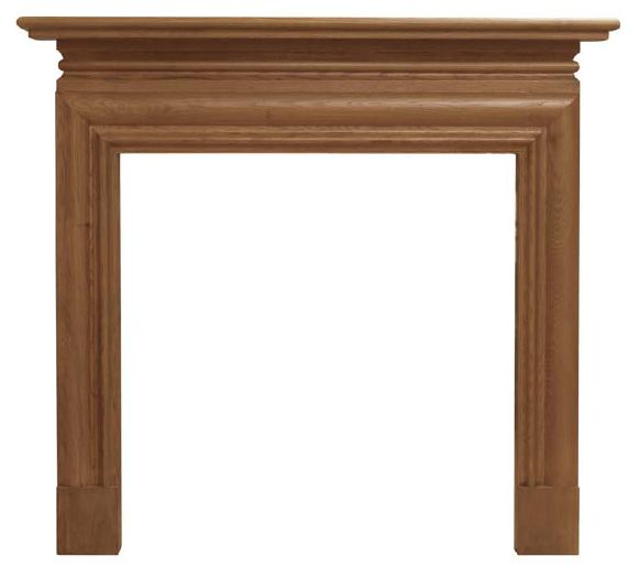 Carron Wessex SMC171 fireplace surrounds are made from solid oak and available in a range of finishes these can be viewed in our showroom