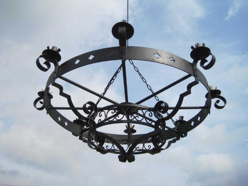 large Antique Gothic Chandeliers are available to buy from Staffordshire