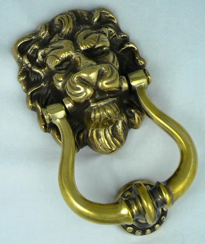 Antique Reproduction Traditional style door furniture available in brass or nickel