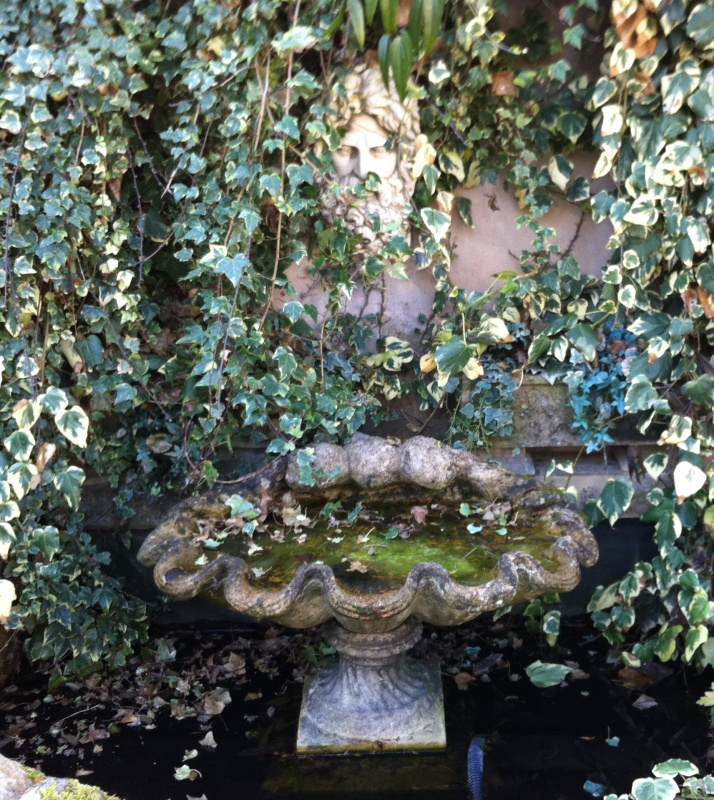 Reclaimed salvaged old vintage water fountains and features made from stone and available to be wall mounted