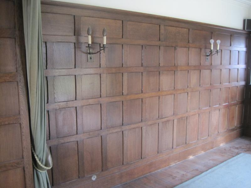 Reclaimed salvaged original oak wall panelling reclaimed from period properties throughout the UK and available to buy from our yard in Staffordshire