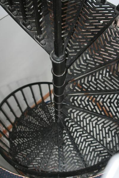 Antique Victorian Cast Iron Spiral Staircase 5659