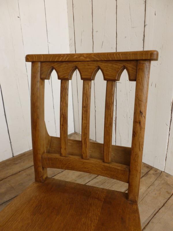 Light Oak Antique Church Chairs Oxford University Dining Chapel Seats EBay