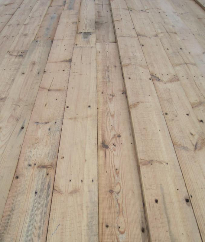 Antique Reclaimed Victorian floorboards are available online