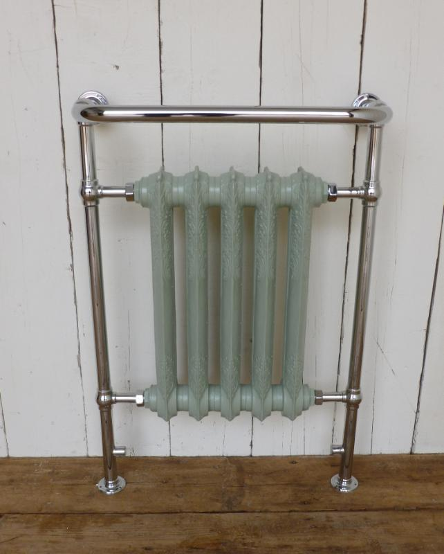 carron,Wilsford,Chrome,French Grey,Towel Rail,towel,rail,bathroom,radiator,cast,iron,victorian,traditional,ukaa,uk,for sale,shop,online,buy,sell,yard,architectural,salvage,reclaim,reclamation,cannock,wood,QSS011fgrey