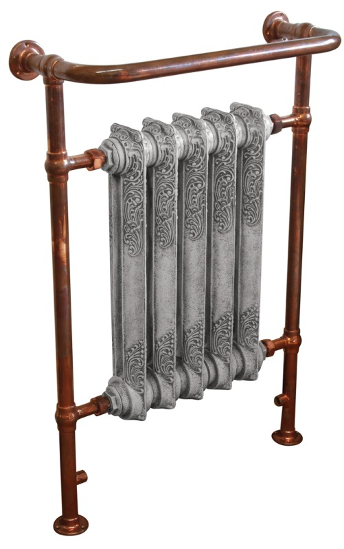 Vellum,carron,Wilsford,Copper,Towel Rail,towel,rail,bathroom,radiator,cast,iron,victorian,traditional,ukaa,uk,for sale,shop,online,buy,sell,yard,architectural,salvage,reclaim,reclamation,cannock,wood,QSS012vel