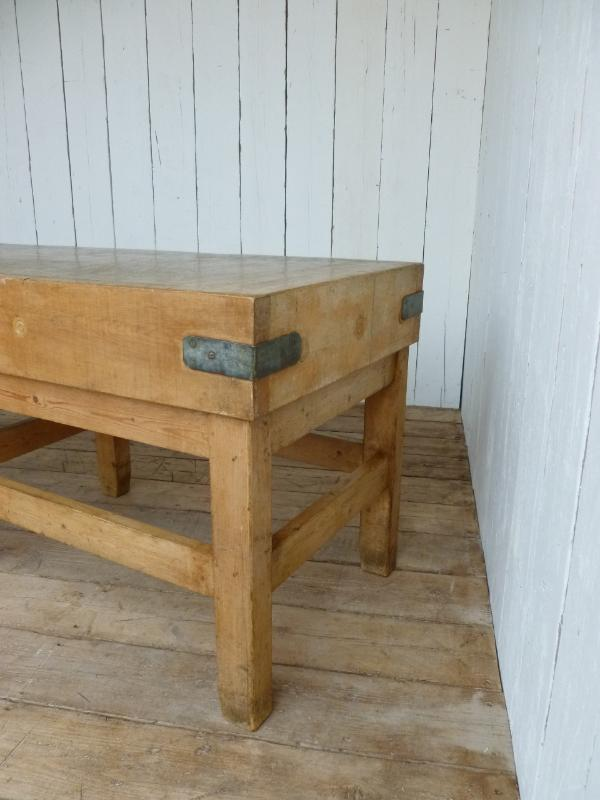 Antique Butchers Chopping Block with Original Blocka and Base,butchers block,chopping block,butchers,antique,block,reclaimed,salvaged,buy,sell,for sale,online,shop,reclamation,maple,ukaa,uk,online,5934