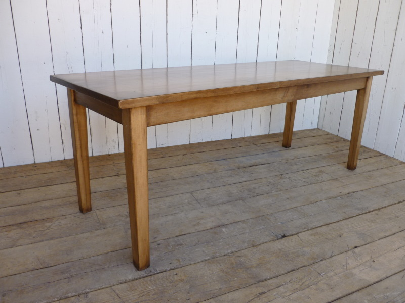 Solid Maple Bespoke Kitchen Or Dining Table
