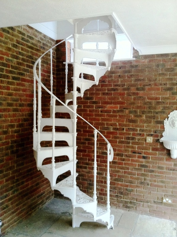Reclaimed Old Salvaged Spiral Stairs Fitted Ready to be fitted in your property