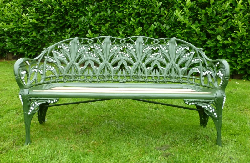 Original Antique Coalbrookdale Benches are Fully Refurbished here in our workshops in the UK