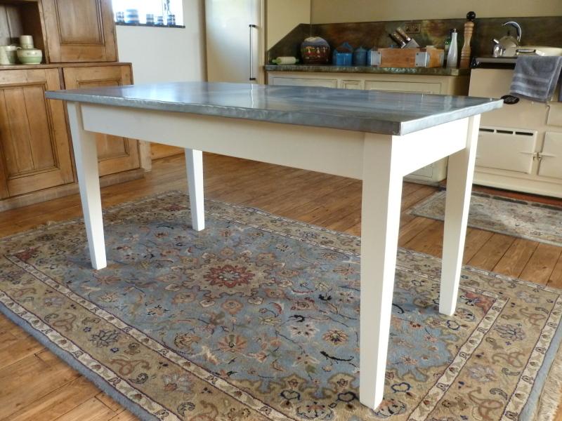 Elegant This Is A Natural Zinc Table | Lounge Mood Board | Pinterest | Zinc Table,  Cast Iron Radiators And Radiators
