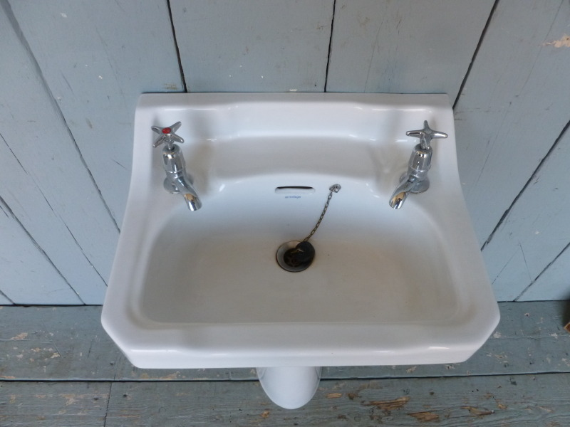 We Can Deliver This Sink And Pedestal For The Standard