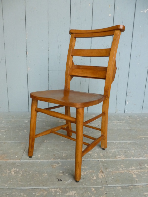Antique Church Chairs With Rubber Feet Kitchen Dining