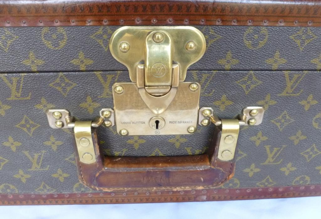 Traditional antique Victorian original Louis Vuitton LV luggage, briefcases, travelling accessories, vanity cases and suitcases available for delivery worldwide