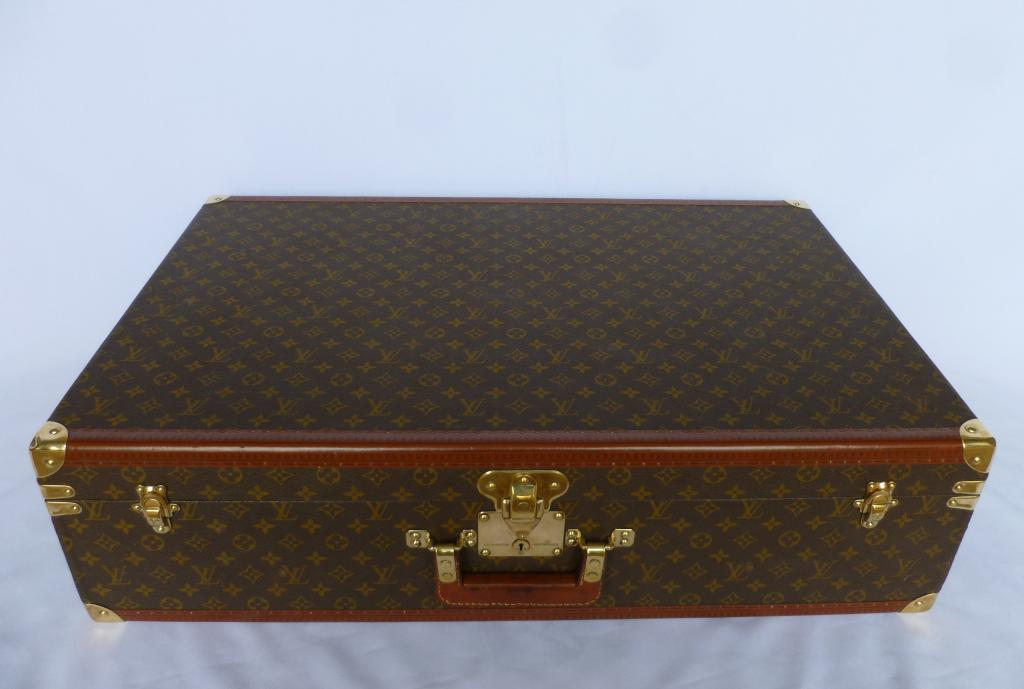 Traditional antique Victorian original Louis Vuitton LV luggage, brief cases, trunks, vanity cases and suitcases in stock and ready to view in our showroom