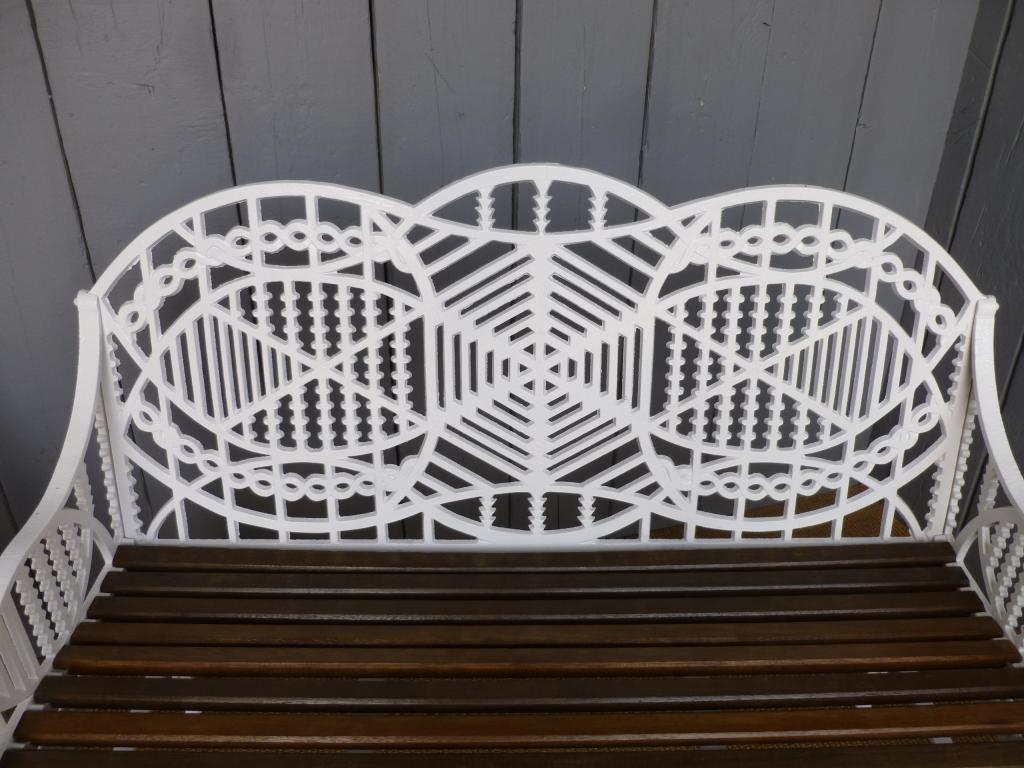 Original Victorian Edward Bawden Garden Furniture Suitable for use in an orangery