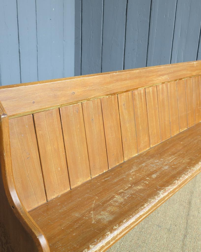 Antique Reclaimed Set Of 12 Church Pews Bench Seat Pews