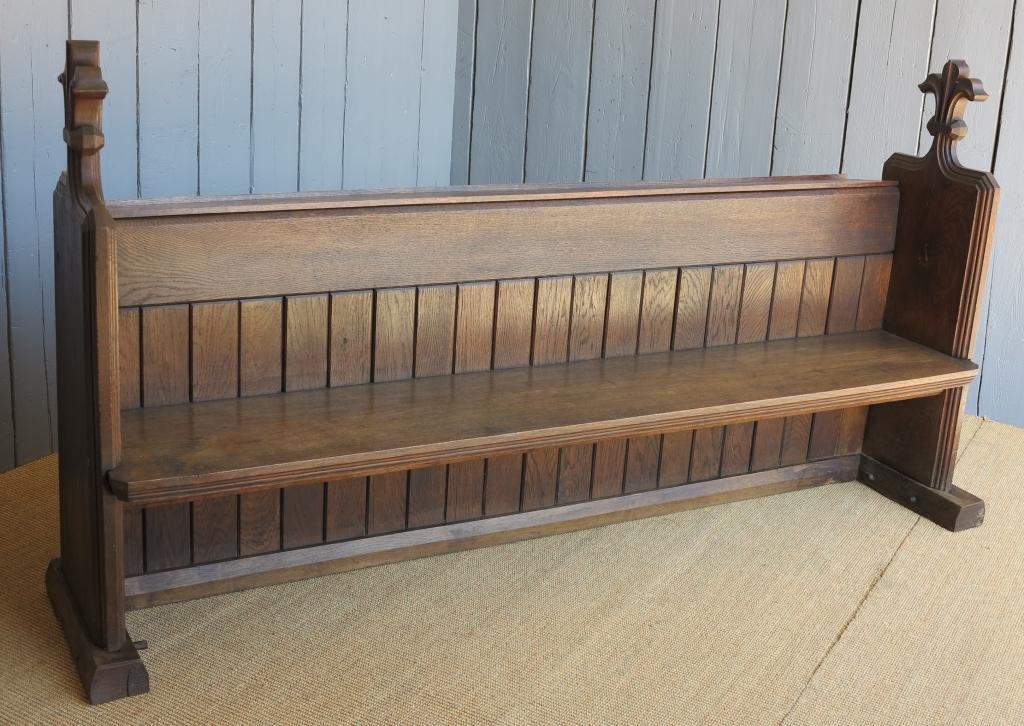 Antique Original Church pews fully refurbished ready for use