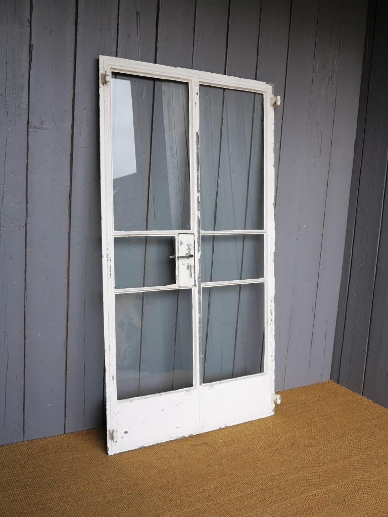 Antique Crittall Double Doors 6652