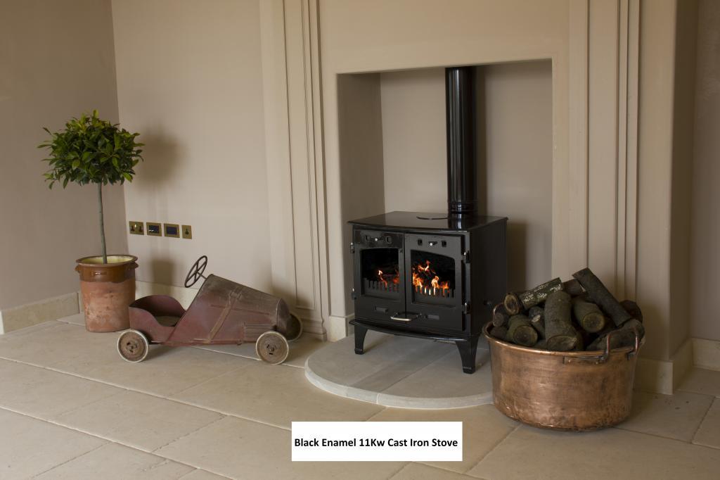 The Carron 11KW Enamelled BHC602 Stoves are available for a next day delivery