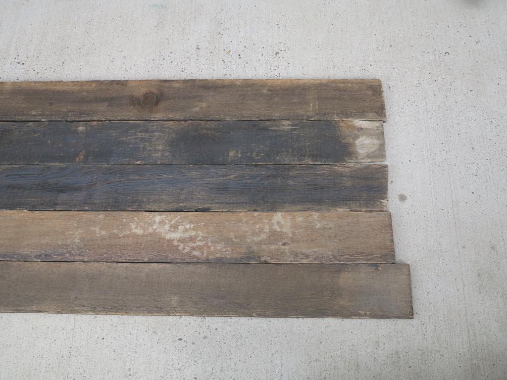 Re Sawn Antique Reclaimed Pine Wide Floorboards Flooring