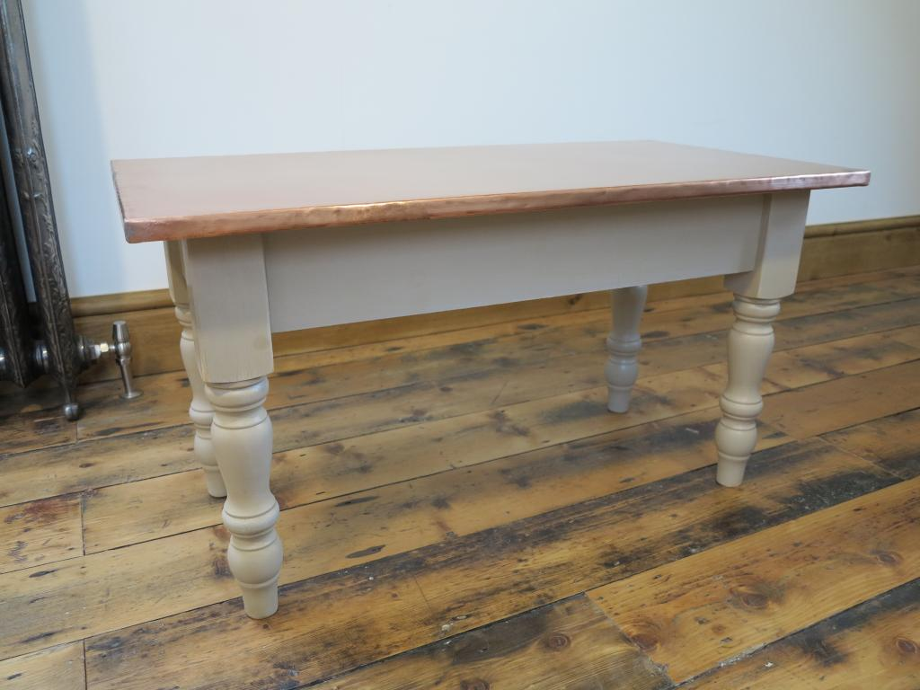At UKAA we bespoke make original farmhouse style tables made to our customers designs