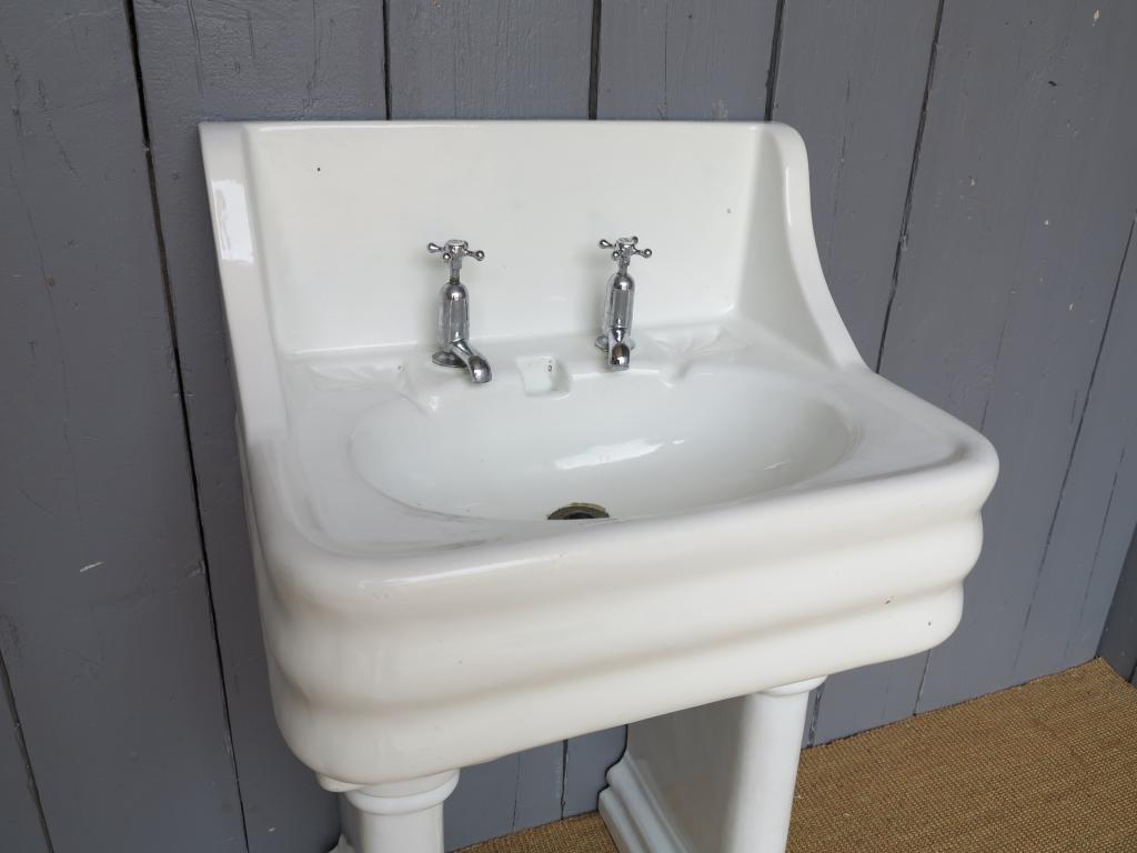 Antique Sink On A Pedestal Base