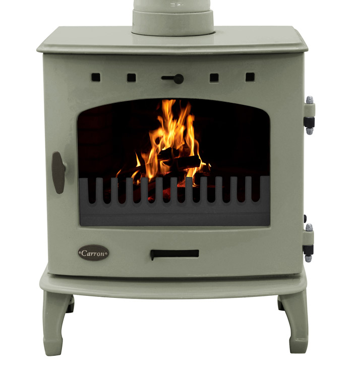 BHC143 Carron 7.3KW Enamelled Stove Available At UKAA