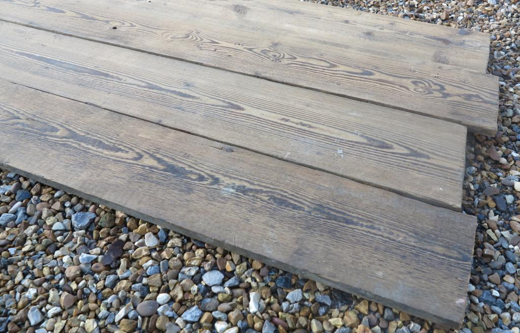 Antique Reclaimed Pine Re Sawn Floorboards