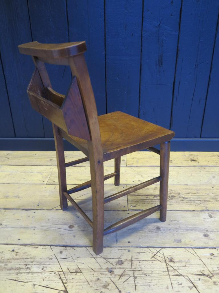 Antique Victorian Church Chairs With Book Holders Kitchen Dining Chapel Cha