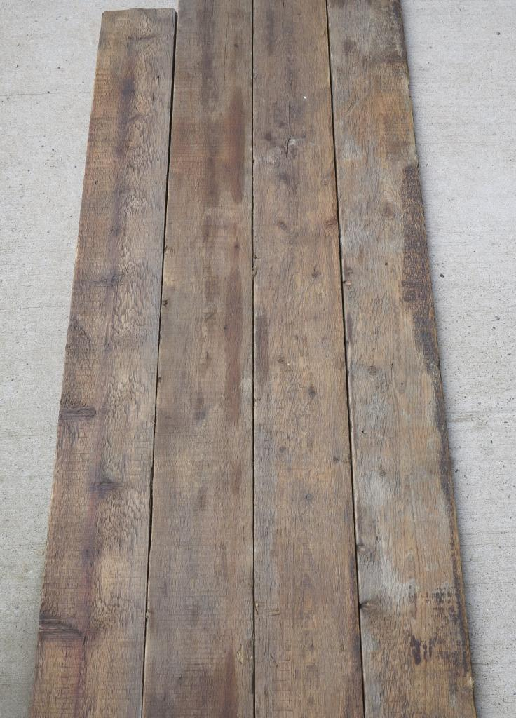 Re Sawn Antique Reclaimed Pine Floorboards 7 Wide Wood