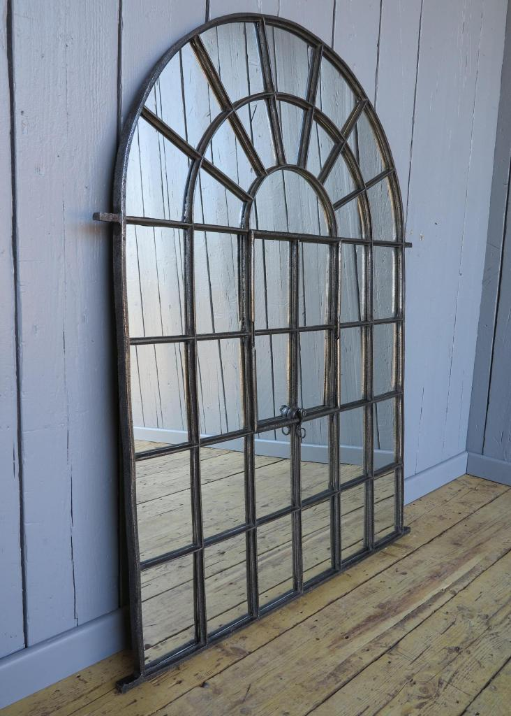original antique reclaimed windows converted into Victorian decorative mirrors are available to view and buy from our salvage yard